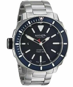 Alpina Men's Seastrong Diving Watch Stainless Steel Strap Mo