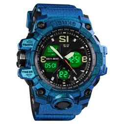 Men's Sport Digital Wrist Watch Diving Military Waterproof A