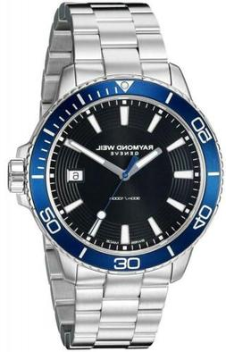Raymond Weil Men's 'Tango 300' Quartz Stainless Steel Diving