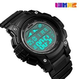Mens Sports Dive 50m Digital LED Military Fashion Casual Ele
