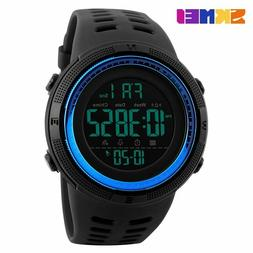 Mens Sports Watches Dive 50m Digital LED Military Watch Men