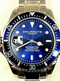 Mens Stuhrling Original Swiss Automatic Depthmaster Professi