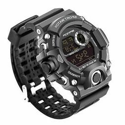 Wdnba Mens Watch Quartz Watch Military Watch Fashion Dive Me