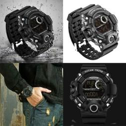 Wdnba Mens Watch Quartz Watches Military Fashion Dive Men's