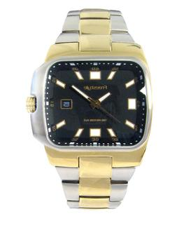 Freestyle Mens Zephyr 61809 Wrist Watch NEW Silver Gold Two
