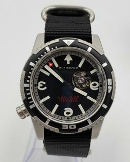 Momentum MH30 Open Heart Automatic Dive Watch for men, Black