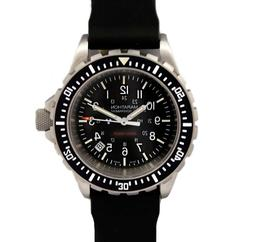 Marathon Military TSAR Dive Watch, US Government dial, Swiss
