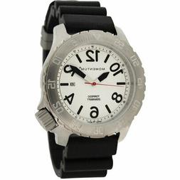 Momentum Men's Torpedo Dive Watch, Stainless Steel/Black