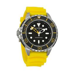 Nautica Men's Sport N18635G Yellow Resin Quartz Watch