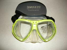 Oceanic NEO 2 Dive Mask Neon Yellow