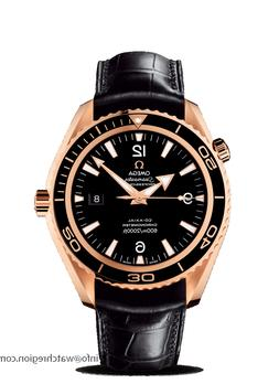 new 18k red gold seamaster planet ocean