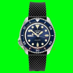 NEW Seiko 5 Mens Blue Dial Dive Watch SRPD93 Automatic 100m