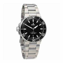 NEW ORIS 73377304154MB AQUIS DATE MEN'S AUTOMATIC DIVING 26