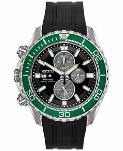 New Citizen Eco-Drive Promaster 200M Dive Rubber Strap Mens