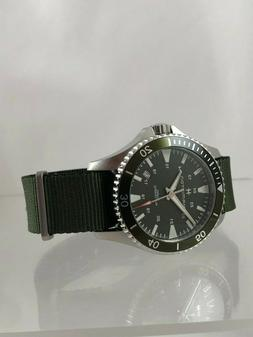 New Hamilton Khaki Navy Scuba Auto Dive-Style Watch H8237596