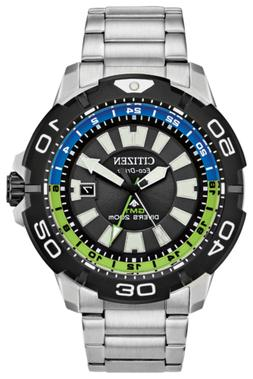 NEW Citizen PROMASTER Eco Drive BJ7128-59G GMT 44mm Case Sta