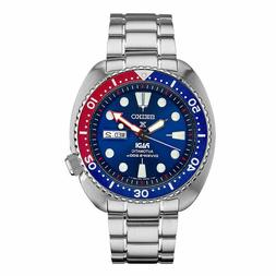 New Seiko SRPA21 Prospex Padi Turtle Stainless Steel Automat