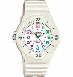 New Casio Women's LRW200H-7B Dive Surf Series White Dial Whi