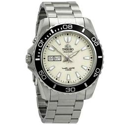 "NWT ORIENT Sporty Automatic ""Mako XL"" 200M Diving Watch FEM7"