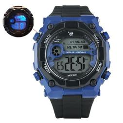 Outdoors Sport Quartz Watch Electronic Diving Waterproof LED