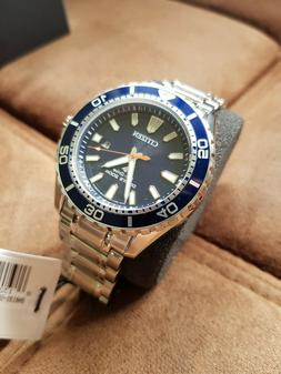 Citizen Promaster eco Dive BN0191-55L silver and blue Wrist