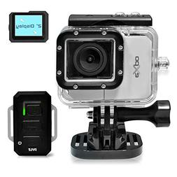 Pyle Expo Sports Action Camera - HD 1080P Mini Hi-Res Camcor