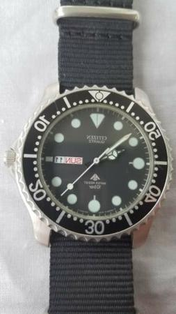 rare dive watch 6101 g00261 10 bar