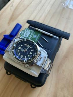 Steeldive SD1970 Free Strap! UPDATED 2020 Seiko 6105 Men's