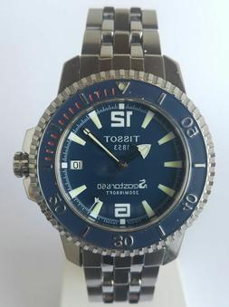 Tissot SeaStar 660 dive watch, stainless band, brand new old