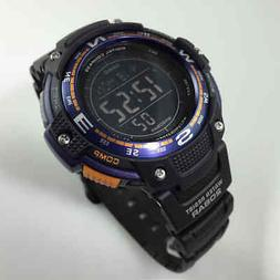 Casio SGW100-2B Smart Watch - Wrist - Altimeter, Barometer,