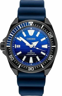 srpd09 samurai automatic 200m dive blue black