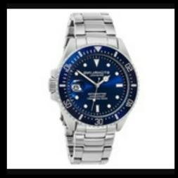 Stuhrling Original Men's Professional Dive Watch - Blue/Silv
