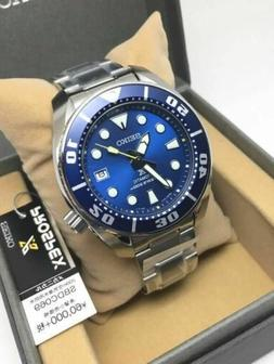 SEIKO SUMO PROSPEX AUTOMATIC DIVE WATCH BLUE DIAL STAINLESS