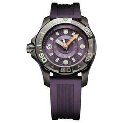 Victorinox Swiss Army Men's 241558 Purple Rubber Swiss Quart