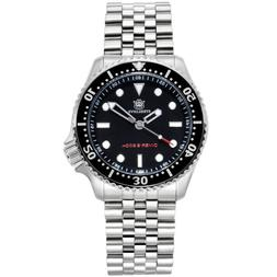 Tuna SKX007 Men Watches  male Stainless Steel diving Wristwa