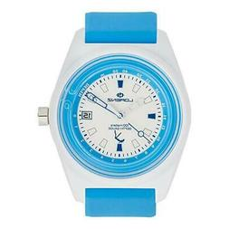 LORENZ Watch Men Depth Gauge 30033AA Rubber Light blue divin