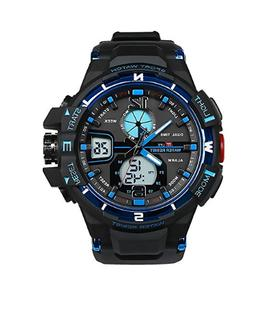 Watch Sports Dive Digital LED Military Men Fashion Electroni