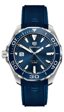 WAY101C.FT6153 TAG HEUER AQUARACER MENS BLUE DIAL QUARTZ DIV
